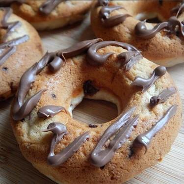 Chocolate Chip Banana Nutella Donuts Recipe   SideChef