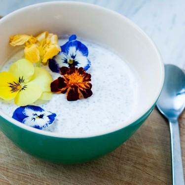 Overnight Yogurt Peanut Butter Chia Pudding Recipe | SideChef