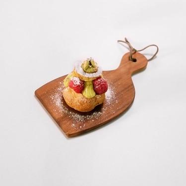 Pistachio Choux à la Crème (Cream Puffs) Recipe | SideChef