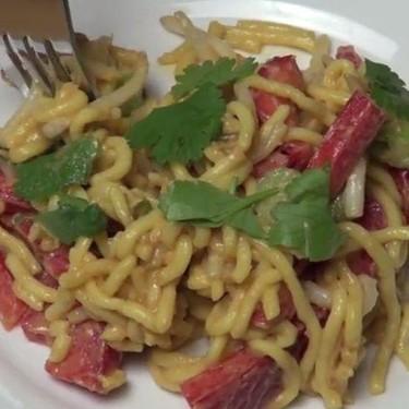 Peanut Satay Noodle Salad Recipe | SideChef
