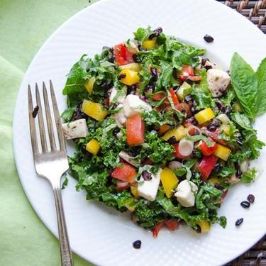 Tangy Italian Black Rice Salad Recipe | SideChef