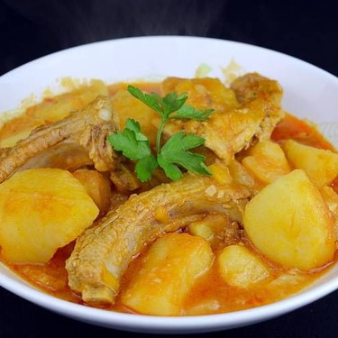 Potato and Pork Ribs Stew Recipe   SideChef