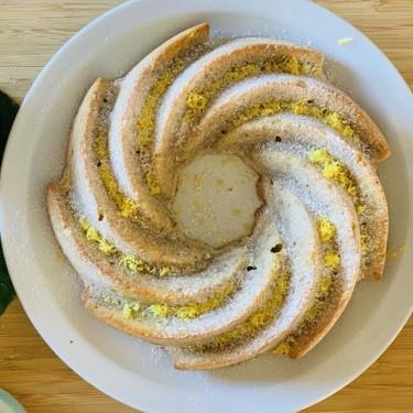 Vegan Lemon and Chia Seeds Ring Cake Recipe | SideChef