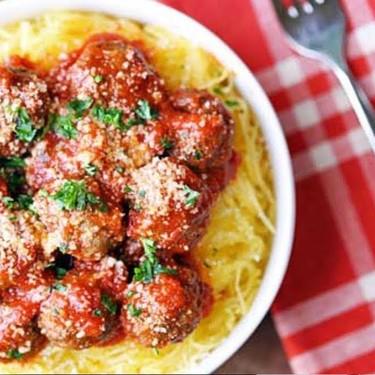 Spaghetti Squash & Meatballs Recipe | SideChef