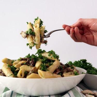 Creamy Mushroom Pasta Recipe | SideChef