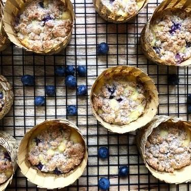 Coconut Flour Blueberry Muffins Recipe   SideChef
