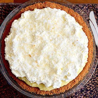 Coconut Cream Pie Recipe   SideChef