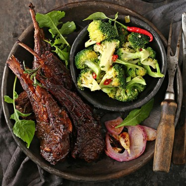 Lamb Chops with Red Wine Recipe   SideChef