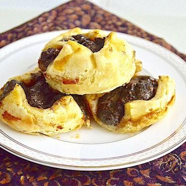Mushroom Gouda Puffs Recipe | SideChef