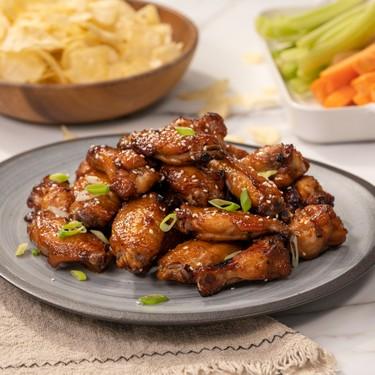 Air-Fried Teriyaki Chicken Wings Recipe   SideChef