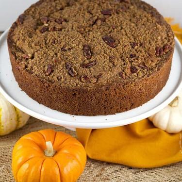 Pumpkin Pecan Streusel Coffee Cake Recipe   SideChef