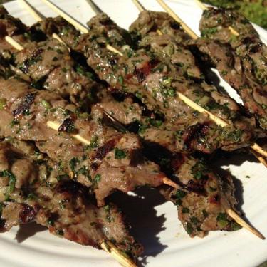 Chimichurri Steak Skewers Recipe | SideChef