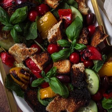 Grilled Panzanella Salad Recipe   SideChef