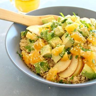 Zingy Avocado Citrus Couscous Salad Recipe   SideChef