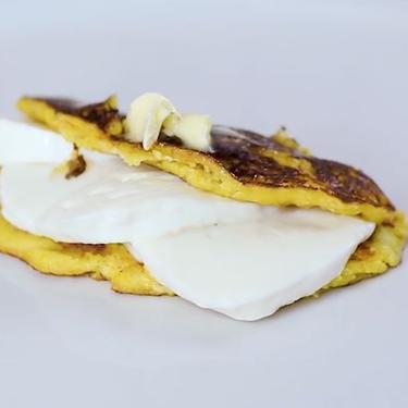 Easy Venezuelan Cachapas (Corncakes with Cheese) Recipe | SideChef
