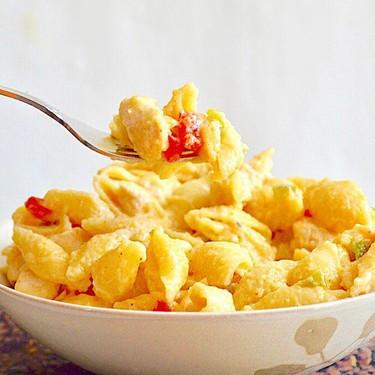 Chicken Fajita Mac and Cheese Recipe   SideChef