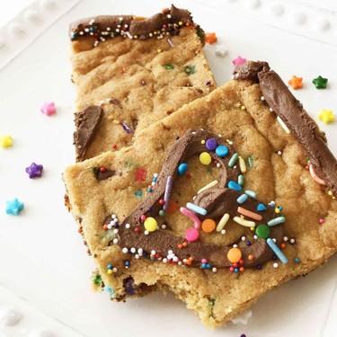 Lightened-Up Giant Cookie Cake Recipe | SideChef