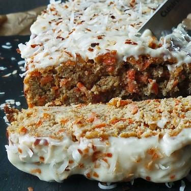 Gluten-Free Carrot Coconut Loaf Cake Recipe   SideChef