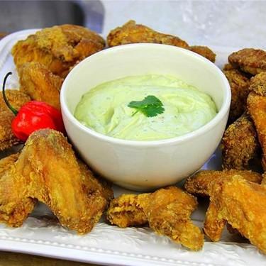 Zesty Garlic Flavored Avocado Yogurt Dip Recipe | SideChef