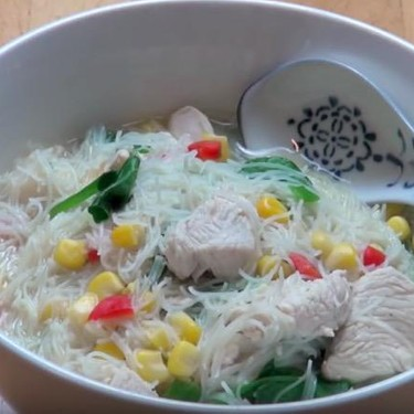 Asian Style Chicken Noodle Soup Recipe | SideChef