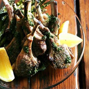 Broiled Lamb Chops with Nigella's Mint Sauce Recipe | SideChef