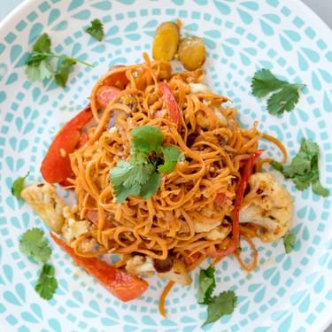 Sweet Potato Veggie Pad Thai Recipe | SideChef