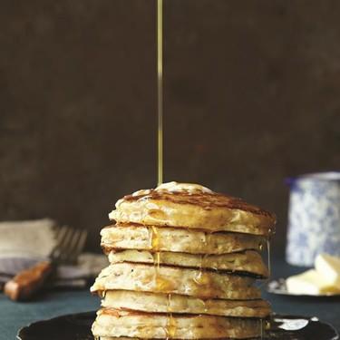 Oatmeal Buttermilk Pancakes Recipe | SideChef