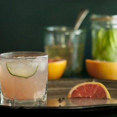 Cucumber-Infused and Grapefruit, Black Pepper Fizz Recipe   SideChef