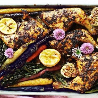 Rotisserie-Style Sheet Pan Chicken Recipe | SideChef