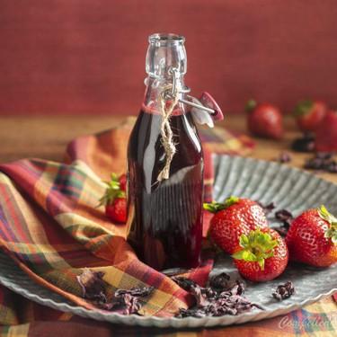 Strawberry Hibiscus Syrup Recipe | SideChef