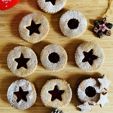 Vegan Christmas Linzer Cookies Recipe   SideChef