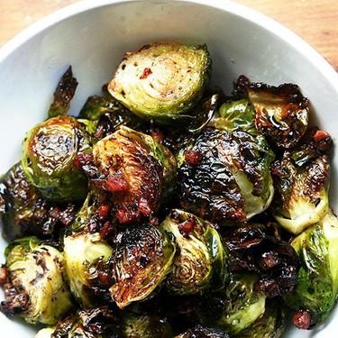 Ina Garten's Balsamic Brussels Sprouts Recipe   SideChef