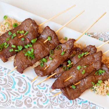 Grilled Teriyaki Beef Skewers Recipe | SideChef