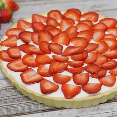 Fresh Strawberry Cheesecake Tart Recipe   SideChef