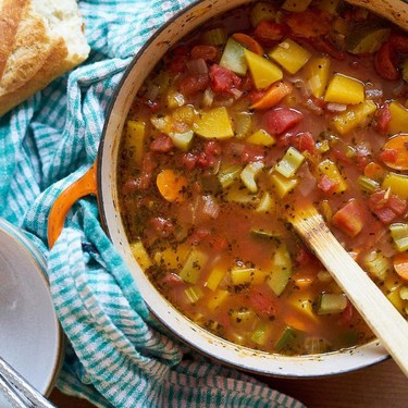Fall Harvest Vegetable Soup Recipe   SideChef