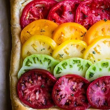Heirloom Tomato Tart Recipe   SideChef
