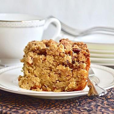 Spiced Rose Crumb Cake Recipe | SideChef