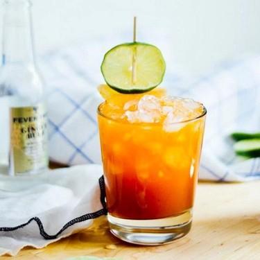 Apricot Pimm's Fizz Recipe | SideChef