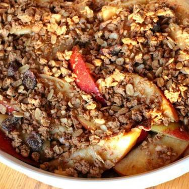 Healthy Protein Apple Crisp Recipe | SideChef