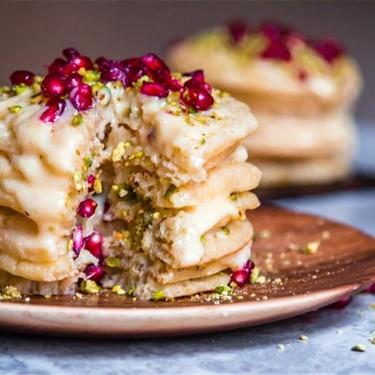 Moroccan Pancake Layer Cake (Baghrir Cake) Recipe   SideChef