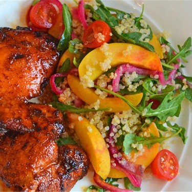 Spicy Chicken Thigh with Sweet & Tangy Honey Glaze Recipe | SideChef