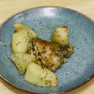 Greek Lemon Chicken and Potato Bake Recipe | SideChef