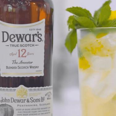 Dewar's O'Flower Highball Recipe | SideChef