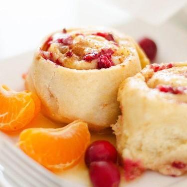 Cranberry Orange Sweet Rolls Recipe | SideChef