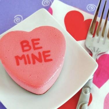 Conversation Heart Cheesecakes Recipe | SideChef