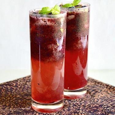 Blueberry Lemon Mojitos Recipe   SideChef