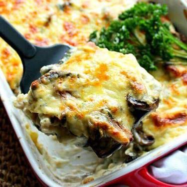 Brinjal Mushroom & Mozzarella Lasagne Recipe | SideChef