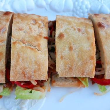Pulled Hoisin-Pork Ciabatta Sandwich Recipe | SideChef