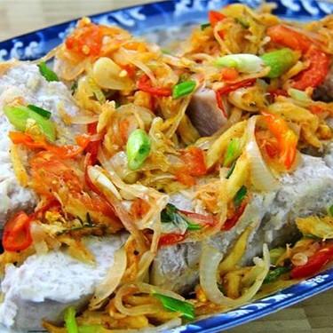 Taro With Stewed Saltfish Recipe   SideChef