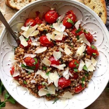 Toasted Couscous Tomato Salad Recipe   SideChef